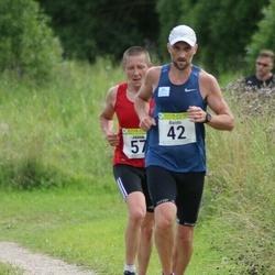 91. Suurjooks ümber Viljandi järve - Raido Krimm (42), Janek Vanamets (57)
