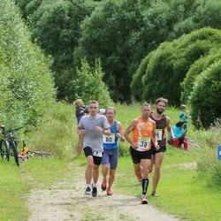 91. Suurjooks ümber Viljandi järve - Jaanus Undrest (38), Edgars Rencis (48), Ulf Rosen (80), Risto Pärnapuu (191)