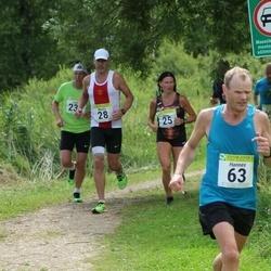91. Suurjooks ümber Viljandi järve - Olga Andrejeva (25), Meelis Rink (28), Hannes Vilk (63), Jaanus Johanson (232)