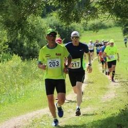91. Suurjooks ümber Viljandi järve - Urmas Telling (203), Alar Egel (217)