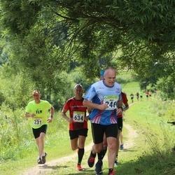 91. Suurjooks ümber Viljandi järve - Jaanus Roosileht (231), Mati Kallas (246), Mart Särg (634)