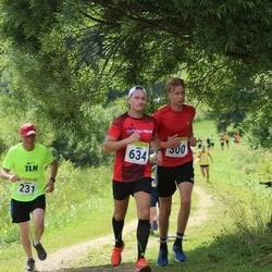 91. Suurjooks ümber Viljandi järve - Jaanus Roosileht (231), Felix Pajo (300), Mart Särg (634)