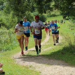91. Suurjooks ümber Viljandi järve - Kristjan Krull (294), Tauno Krull (478), Gerli Vaikmaa (564)