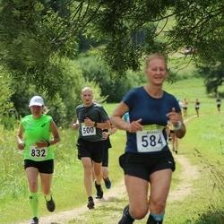 91. Suurjooks ümber Viljandi järve - Kristo Tamsalu (500), Kristel Kivi (584), Mare Padu (832)