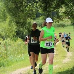 91. Suurjooks ümber Viljandi järve - Kristo Tamsalu (500), Mare Padu (832)
