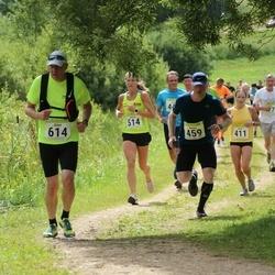 91. Suurjooks ümber Viljandi järve - Raimo Saul (459), Krista Puks (514), Airet Andresson (614)