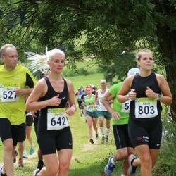 91. Suurjooks ümber Viljandi järve - Merilin Metsatsirk (642), Karin Kiilaspä (803)