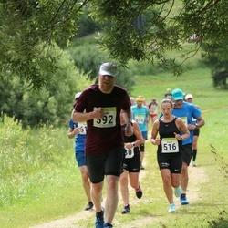 91. Suurjooks ümber Viljandi järve - Diana Teemo (516), Guido Pääsuke (592)