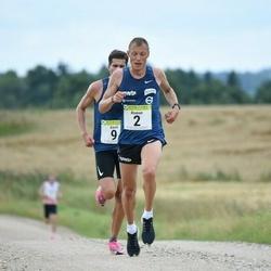 91. Suurjooks ümber Viljandi järve - Roman Fosti (2), Karel Hussar (9)