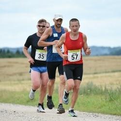 91. Suurjooks ümber Viljandi järve - Allar Soo (35), Raido Krimm (42), Janek Vanamets (57)