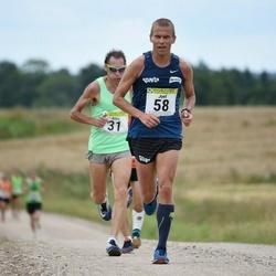 91. Suurjooks ümber Viljandi järve - Antis Zunda (31), Joel Puulmann (58)