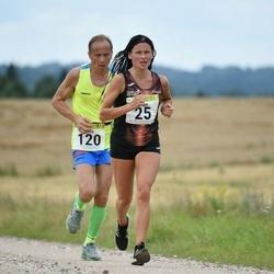 91. Suurjooks ümber Viljandi järve - Olga Andrejeva (25), Vello Lillipuu (120)