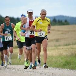 91. Suurjooks ümber Viljandi järve - Alar Ridamäe (27), Meelis Rink (28), Eduard Kimask (151)