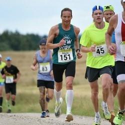 91. Suurjooks ümber Viljandi järve - Meelis Rink (28), Keijo Priks (45), Eduard Kimask (151)