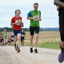 91. Suurjooks ümber Viljandi järve - Marko Suurmägi (267), Jürgen Aas (492)
