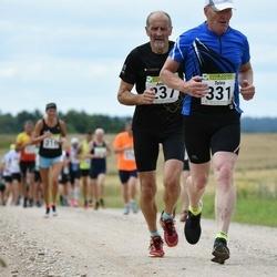 91. Suurjooks ümber Viljandi järve - Andris Dainis (237), Toivo Ivainen (331)