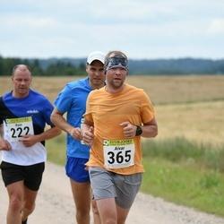 91. Suurjooks ümber Viljandi järve - Rain Kallaste (222), Aivar Ots (365)