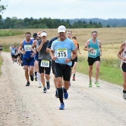 91. Suurjooks ümber Viljandi järve - Ants Kuusik (261), Andres Uusma (315), Jaanus Kaur (550)