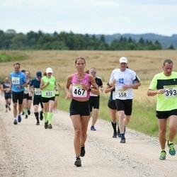 91. Suurjooks ümber Viljandi järve - Allan Järv (393), Silja Scheer (467), Urmas Hallik (558)