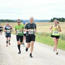 91. Suurjooks ümber Viljandi järve - Veiko Mataloja (426), Kristo Tamsalu (500), Krista Puks (514), Jürjo Voitka (710)