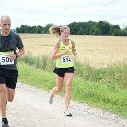 91. Suurjooks ümber Viljandi järve - Kristo Tamsalu (500), Krista Puks (514), Jürjo Voitka (710)