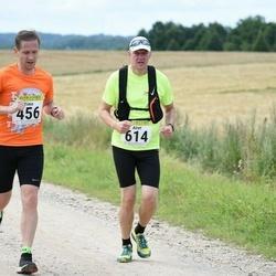91. Suurjooks ümber Viljandi järve - Timo Vennik (456), Airet Andresson (614)