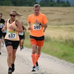 91. Suurjooks ümber Viljandi järve - Rene Hallemaa (340), Helen Akenpärg (637)