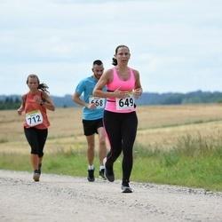 91. Suurjooks ümber Viljandi järve - Gaily Männik (625), Annely Ahtma (649), Kermo Lindma (668), Maris Leiaru (712)
