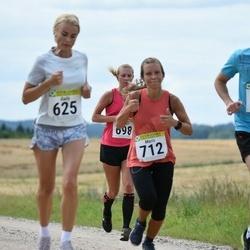 91. Suurjooks ümber Viljandi järve - Gaily Männik (625), Kermo Lindma (668), Mari Hubel (698), Maris Leiaru (712)