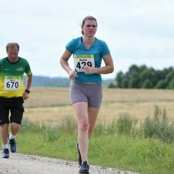 91. Suurjooks ümber Viljandi järve - Katrin Kahu (429), Märt Vaasna (670)