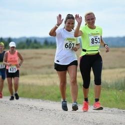 91. Suurjooks ümber Viljandi järve - Ester Leiten-Kukk (607), Signe Holm (852)