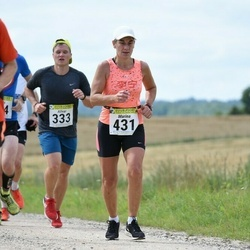 91. Suurjooks ümber Viljandi järve - Allvar Väli (333), Marina Järve (431)
