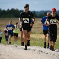 91. Suurjooks ümber Viljandi järve - Indrek Peterkopf (126), Katrin Peterkopf (724)