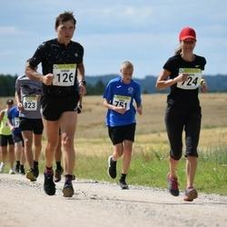 91. Suurjooks ümber Viljandi järve - Indrek Peterkopf (126), Katrin Peterkopf (724), Eldar Ispert (751)