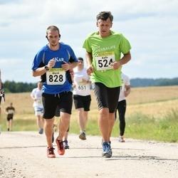91. Suurjooks ümber Viljandi järve - Kalle Lillemets (524), Marek Soe (828)