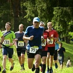 91. Suurjooks ümber Viljandi järve - Endre Varik (132), Mart Laid (357), Janno Rillo (422)