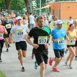 91. Suurjooks ümber Viljandi järve - Harry Volke (395), Külli Hunt (411), Hannes Soo (443), Toomas Vilberg (462), Annely Ahtma (649), Roland Mäe (658)