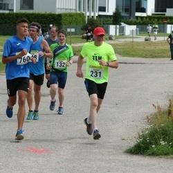 91. Suurjooks ümber Viljandi järve - Endre Varik (132), Jaanus Roosileht (231)