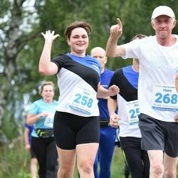 48. jooks ümber Ülemiste järve - Anna Remmelgas (258), Hans Vallner (268)