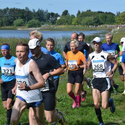 41. jooks ümber Ülemiste järve - Alar Savastver (15), Lauri Jürjen (268), Eik Eller (321), Ergo Lilienberg (953)
