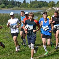 41. jooks ümber Ülemiste järve - Rait Ermann (240), Alo Vallikivi (326), Alar Lehesmets (429), Jaak Viitmann (585), Andres Viira (904)