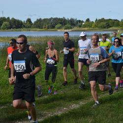 41. jooks ümber Ülemiste järve - Mihkel Jürimaa (600), Argo Põldoja (750), Aet Kull (761), Eda Lehmann (804), Märt Hiietamm (863)
