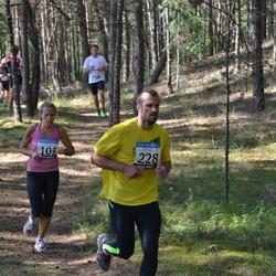 41. jooks ümber Ülemiste järve - Kadri Jägel (103), Kim Truija (228)