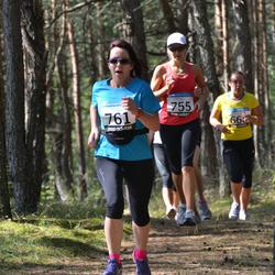 41. jooks ümber Ülemiste järve - Ave Toomingas (755), Aet Kull (761)