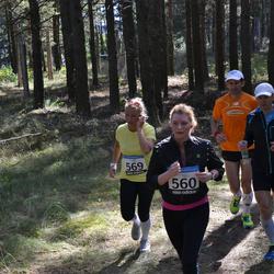 41. jooks ümber Ülemiste järve - Karmen Kelemith (560), Anna-Maria Sepp (569)