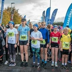 47. Saaremaa kolme päeva noortejooks - Holger Vitsur (9), Mia Lii Kaigas (75), Emil Kaigas (76), Karmel Jano (80), Meri-Lill Plagnaud (87), Lisett Alt (108), Mette Merit Peenoja (219)