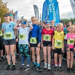 47. Saaremaa kolme päeva noortejooks - Holger Vitsur (9), Marit Tarm (30), Mia Lii Kaigas (75), Emil Kaigas (76), Karmel Jano (80), Meri-Lill Plagnaud (87), Lisett Alt (108), Mette Merit Peenoja (219)