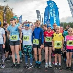 47. Saaremaa kolme päeva noortejooks - Holger Vitsur (9), Marit Tarm (30), Romet Ridalaan (71), Mia Lii Kaigas (75), Emil Kaigas (76), Karmel Jano (80), Meri-Lill Plagnaud (87), Lisett Alt (108), Mette Merit Peenoja (219)