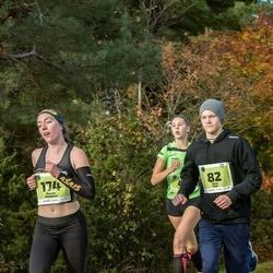 47. Saaremaa kolme päeva noortejooks - Risto Saar (82), Renate Belajeva (174)