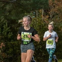 47. Saaremaa kolme päeva noortejooks - Karmel Jano (80), Berit Guzas (216)